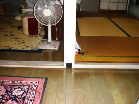 フローリングと畳の部屋